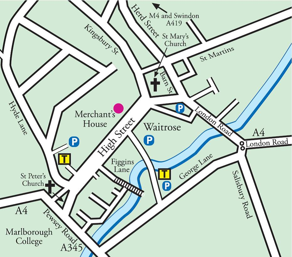 merchants house coach map
