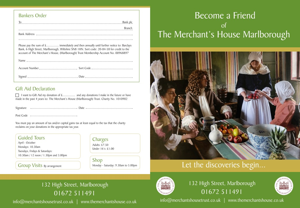 Become a Friend leaflet