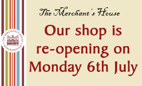 Shop re-opening