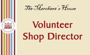 We are looking for a Volunteer Shop Director
